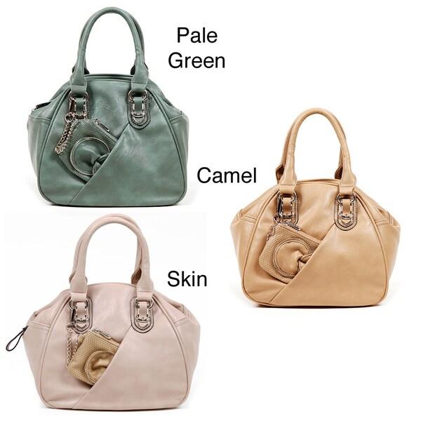 Nicole Lee Gemma Bowler Handbag with Detachable Coin Purse