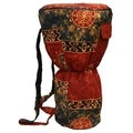 Auburn Cloth Djembe Drum Backpack Bag (Indonesia)