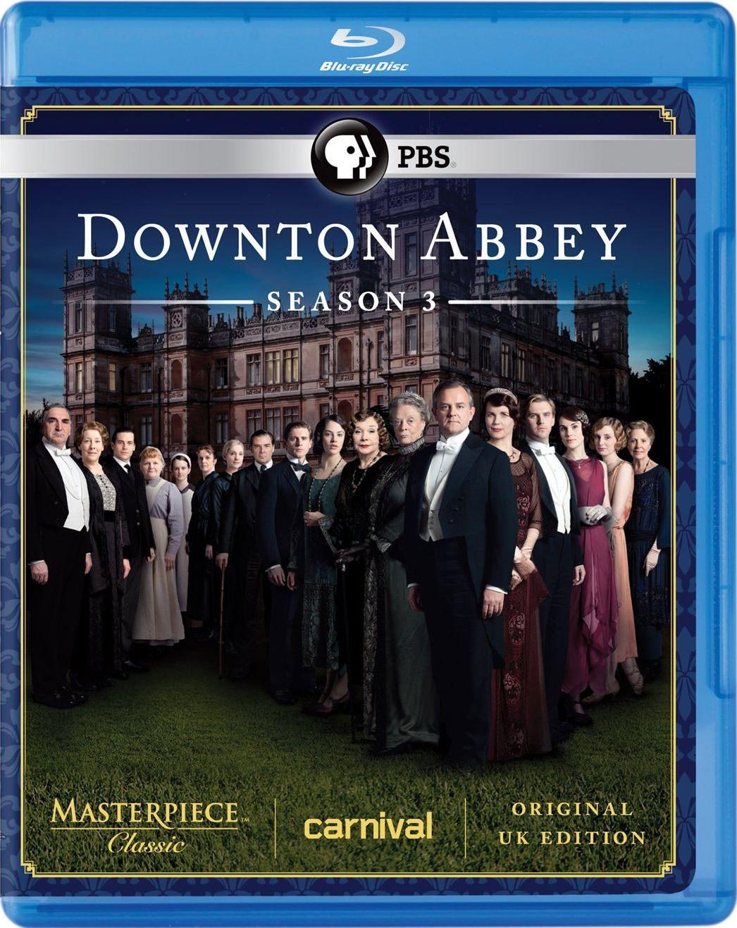 Masterpiece Classic: Downton Abbey: Season 3 (Blu-ray Disc)