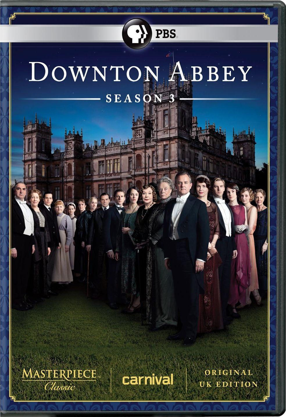 Masterpiece Classic: Downton Abbey: Season 3 (DVD)