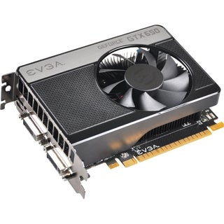 EVGA GeForce GTX 650 Graphic Card - 1058 MHz Core - 2 GB GDDR5 SDRAM