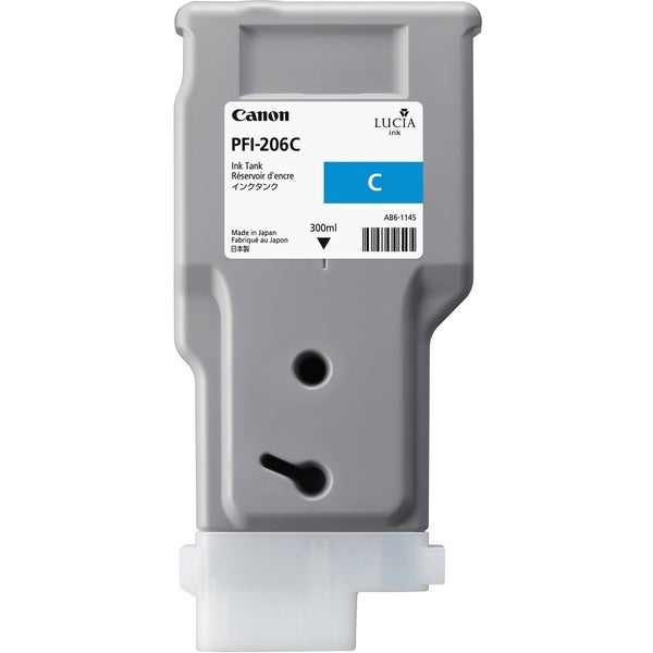Canon PFI-206C Ink Cartridge - Cyan