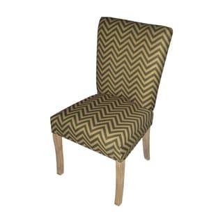 Julia Ziggi Tobacco Fan Back Chairs (Set of 2)