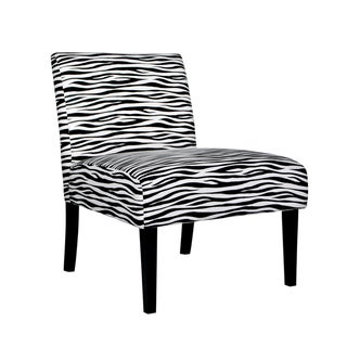 Portfolio Niles Zebra Animal Print Chair