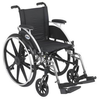 Viper Wheelchair with Flip Back Desk Arm Styles and Front Rigging Options