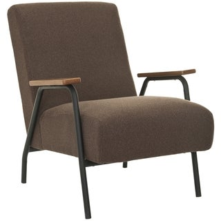 Safavieh Retro Brown Club Chair