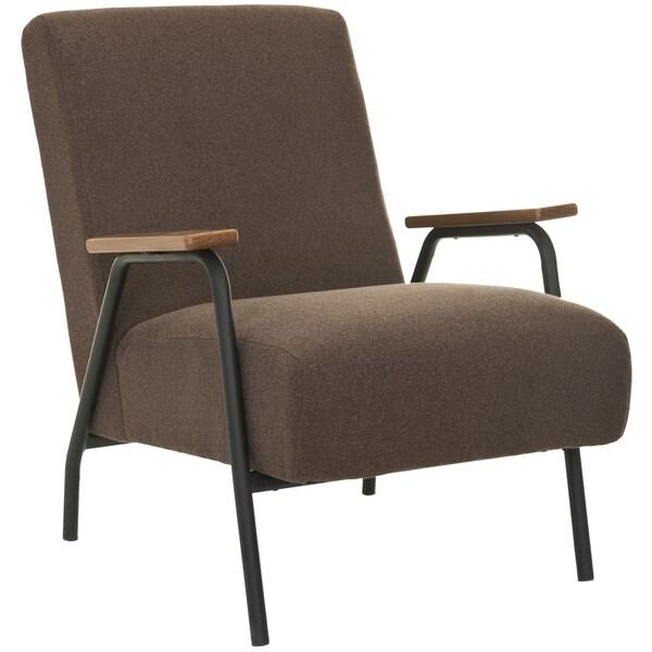 Safavieh Retro Brown Club Chair