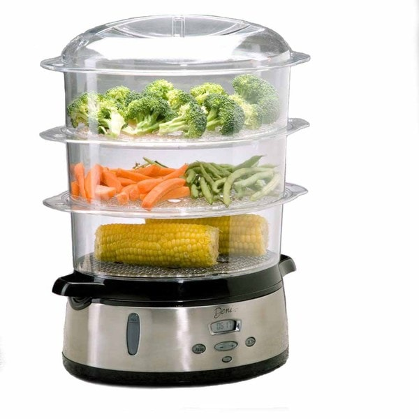 Deni 7600 Stainless Steel Food Steamer