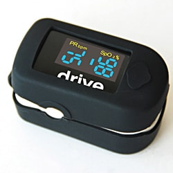 Clip Style Fingertip Pulse Oximeter with Dual View LCD