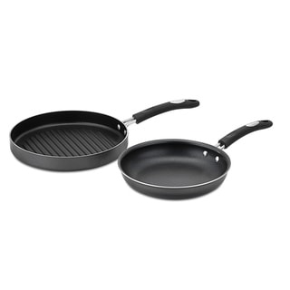 Weight Watchers 2-piece Skillet Grill Pan Set