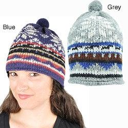 Snowy Winter Paradise Hat (Nepal)
