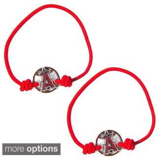 Aminco MLB Stretch Bracelets/ Hair Ties (Set of 2)
