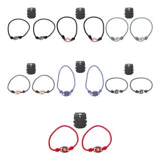 Aminco NFL Stretch Bracelets/ Hair Ties Set of (2)