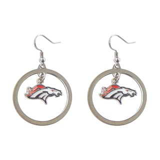 Aminco Denver Broncos Dangle Logo Earring Set Charm Gift