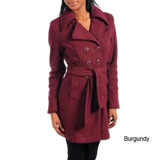 Stanzino Women's Belted Trench Coat