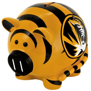 Officially-Licensed NCAA Large Thematic Resin Piggy Bank
