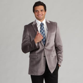 Kenneth Cole Men's 2-button Velvet Sport Coat