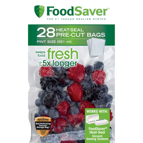FoodSaver Pint Bags (28 count)