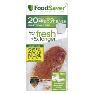 FoodSaver 20-count Quart-size Bags