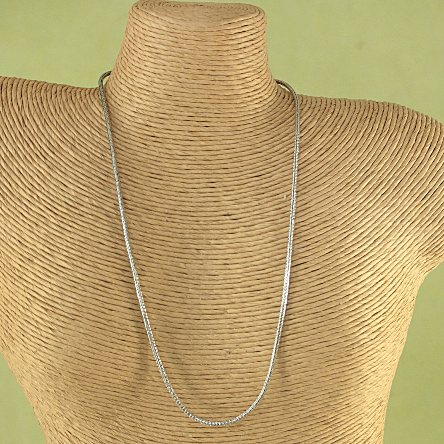 Handcrafted Bali Sterling Silver Traditional Necklace ( Indonesia)