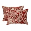 Red Leaf Reversible Pillow