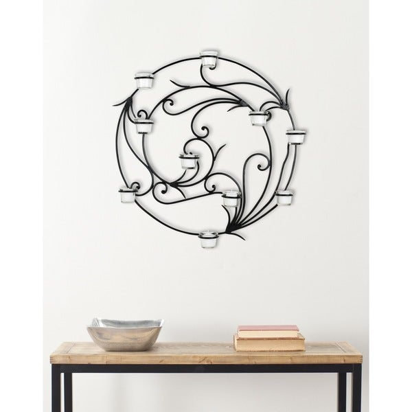 Circular Wall Sconce Candle Holder : Safavieh Circular Candle Holder Wall Sconce - 14766114 - Overstock.com Shopping - Great Deals on ...