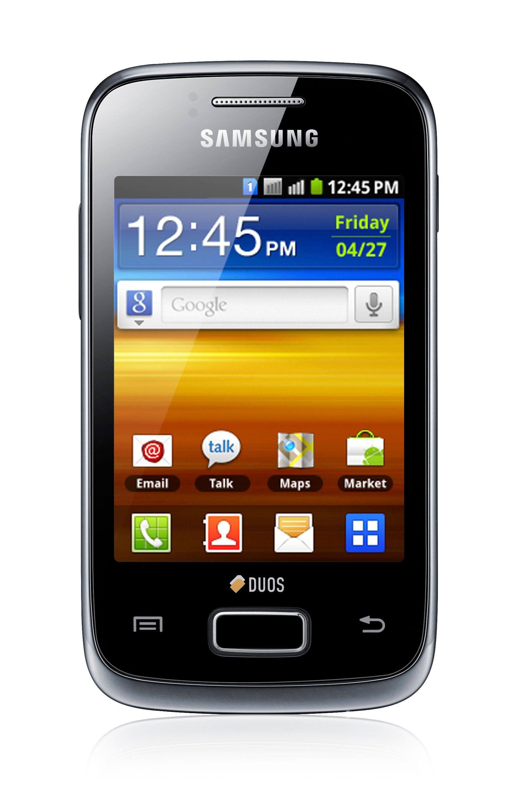 Samsung Galaxy Y DUOS S6102 GSM Unlocked Android Cell Phone