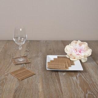 Bamboo Coaster 6-piece Set