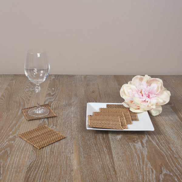 Bamboo Coaster 6-piece Set