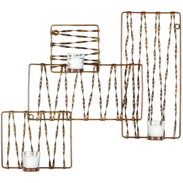 Safavieh Zig-Zag Candle Holder Wall Sconce 9830930