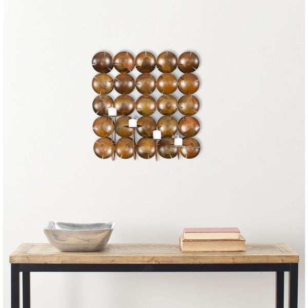 Safavieh Coco-Shells Square Candle Holder Wall Sconce
