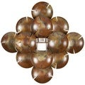 Safavieh Coco-Shells Diamond Candle Holder Wall Sconce