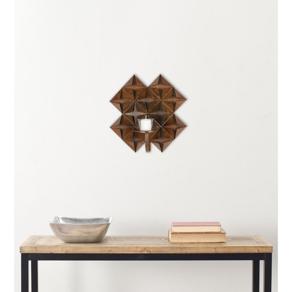 Safavieh Origami Piece Candle Holder Wall Sconce 9830939