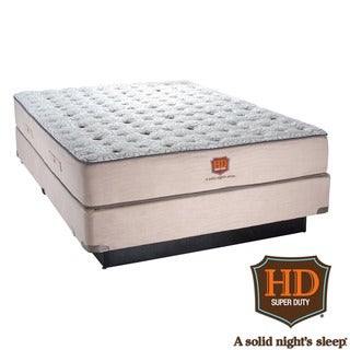 Paramount HD Heavy Duty Bixby Firm Mattress Set