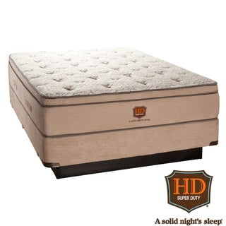 Paramount HD Heavy Duty Ambassador Euro Top Mattress Set