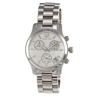 Michael Kors Women's MK5428 Runway Silvertone Watch