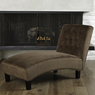 Christopher Knight Home Danielle Tufted Indoor Chaise Lounge