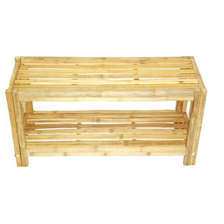 Solid Bamboo Shoe Rack (Vietnam)