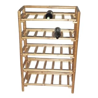 Bamboo Folding Wine Rack (Vietnam)