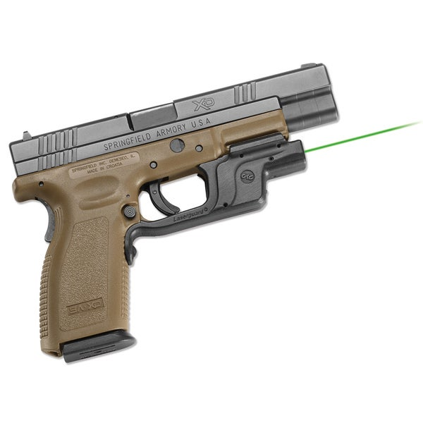 Crimson Trace Green Laserguard for Springfield Armory XD and XDM