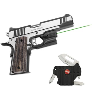 Crimson Trace Green Laserguard for Kimber and Smith and Wesson 1911