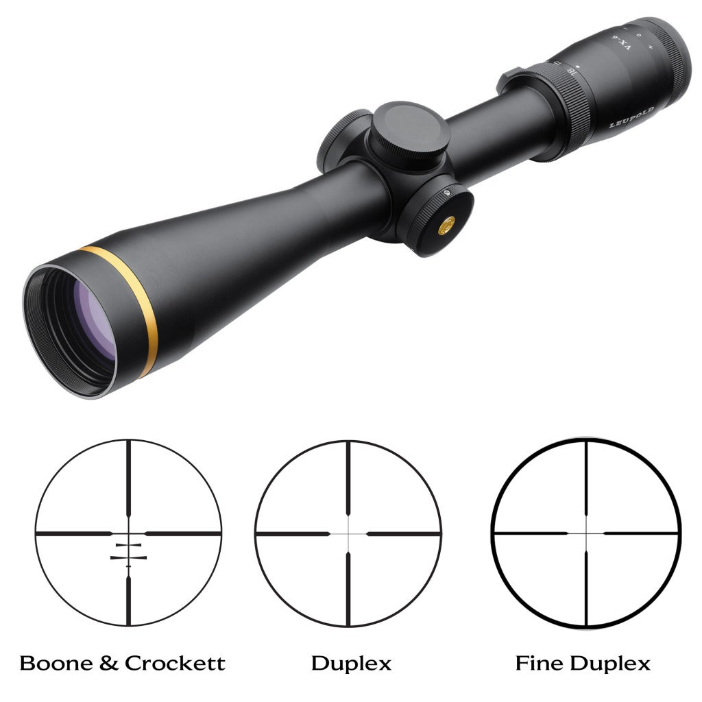 Leupold VX-6 3-18x44mm Custom Dial System Rifle Scope