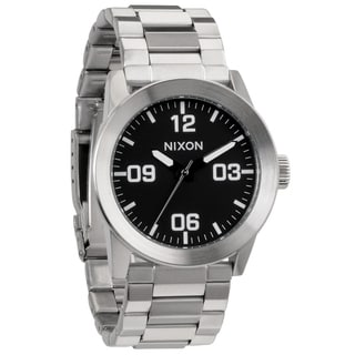 Nixon Men's Black Private SS Watch