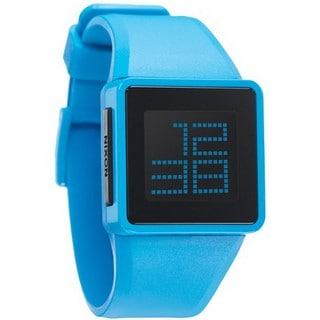 Nixon Men's Sky Blue Digital Newton Watch