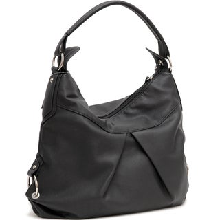 Dasein Classic Fashion Faux Leather Hobo Handbag