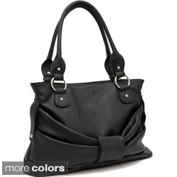 Dasein Faux Leather Shoulder Bag
