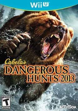 Wii U- Cabela's Dangerous Hunts 2013
