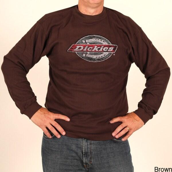 Dickies Men's Long Sleeve Thermal Crew Neck Shirt