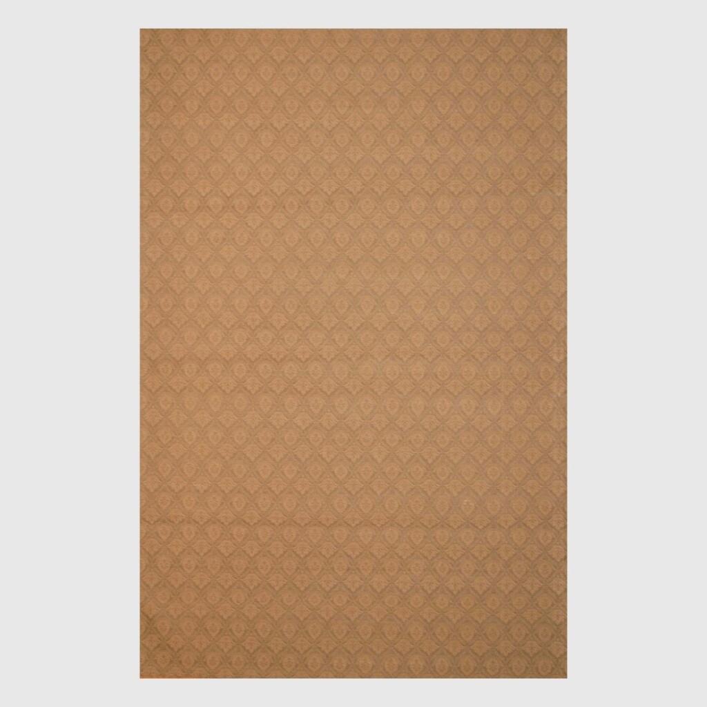 Indo Hand-tufted Flat Weave Brown/ Beige Kilim Rug (5'6 x 8')
