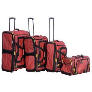Lucas 'Accelerator' 4-piece Luggage Set